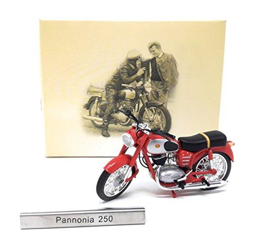 Modell Motorrad Pannonia 250 rot Atlas Modellmotorrad Ungarn 1:24.