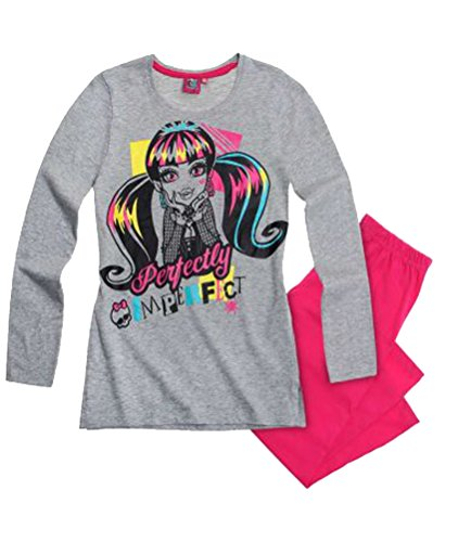 Monster High Mädchen Pyjama/Schlafanzug Perfectly Imperfect - 140
