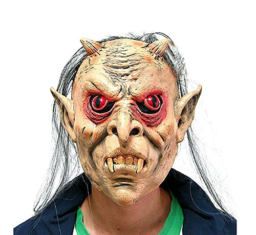 Blancho œil Rouge Masque de fantôme fête d'halloween Masque Mascarade Masque Masque de Cosplay