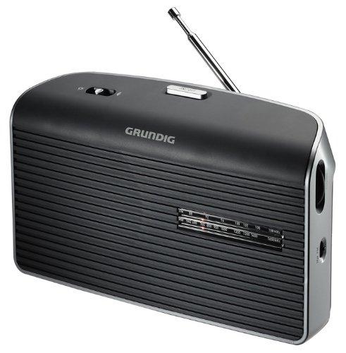 Grundig Music 60 Empfangsstarkes Radio im modernen Design grau