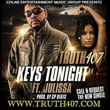 Truth407 - Keys Tonight Prod. by Cp Beats (feat. Julissa Sabino)