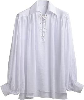 linen pirate shirt