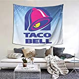 Bell With Taco Wall Hanging For Room Room College Dorm Tapestries Bedroom Living Room Dorm (60'X51')Inch