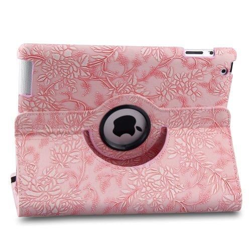 Cheap TOPCHANCES 360 Degrees Rotating PU Leather Case Smart Cover Stand for iPad Mini mini2 mini3 wi...