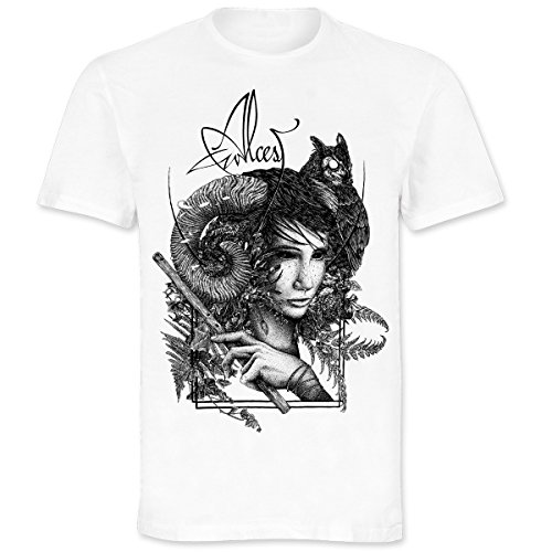 Alcest - Faun (White) T-Shirt XL white