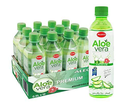 ALEO Aloe Vera Getränk Premium ( 12Fl. zu je 0,5 L) EINWEG