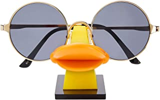 i-Win Eyeglass Holder Stand Sunglasses Holder Nose Shape Glasses Display Stand Funny Table Décor (Duckbill)