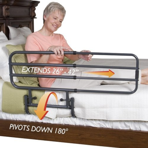 NRS Healthcare Standers EZ Adjustable Bed Support Rail
