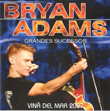 CD Bryan Adams - Vina Del Mar 2007