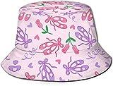 Unisex Bakery Bakery Treats Midnight Print Travel Bucket Hat Gorra de Pescador de Verano Sombrero de Sol-Bailarina Dream Double Brushed