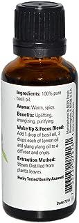 زيت الريحان 100% نقي طبيعي Now Foods Essential Oils Basil 30 ml