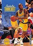 1992-93 SkyBox Series 1 Basketball #120 Sedale Threatt Los Angeles Lakers Official NBA Trading Card