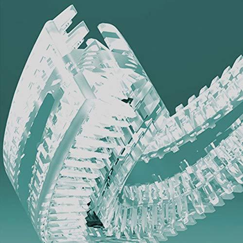 V-white 360 Intelligente automatische elektrische Schallzahnbürste U-Typ USB Wiederaufladbare Zahnpasta mit Silikonbürstenkopf - Blau