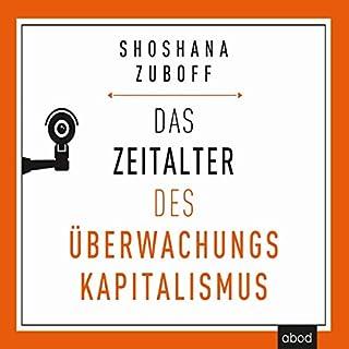 Das Zeitalter des Überwachungskapitalismus Titelbild