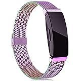 Tobheo Compatible para Fitbit Inspire HR Correa/Inspire Correas/Inspire 2 Pulsera/Ace 2 Band Recambio Accesorios Multicolor(sin Reloj),S