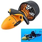 All-In-Store Waterproof 300W Electric Sea Scooter Dual Speed Underwater Propeller Diving Pool Scooter(Without Battery)