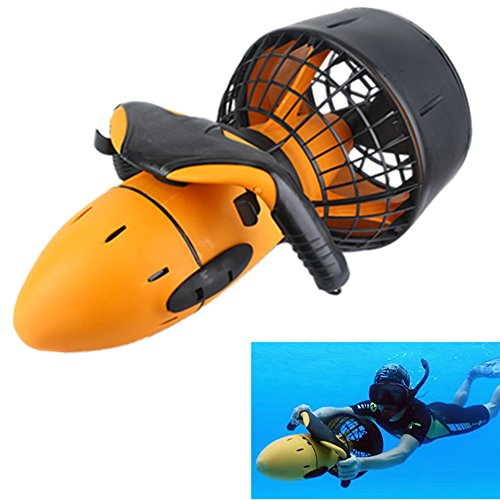 ZUEN Piscina de Agua de mar 300 W Scooter Submarino Hélice de Agua de Doble Velocidad Equipo de Scooter de Buceo Submarino Sea Scooter