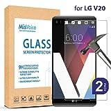 LG V20 Protection d'écran, [2-pack] Misvoice Invisible Defender HD en Verre de Qualité, Solide...