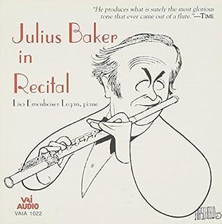 Julius Baker in Recital by Julius Baker (1995-05-18)