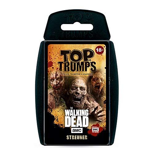 Winning Moves 63445 Top Trumps-The Walking Dead AMC Streuner Edition: Trumps con los Zombies más terroríficos de Allen Staffen, Juego de triunfas