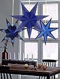 Sunbeauty Paquete de 3 Piezas Estrella de Navidad Decoracione para la Navidad Fiesta...