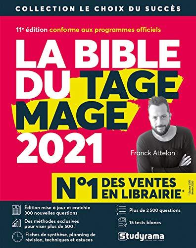 La Bible du TAGE MAGE - 10e édition 2020 - Visez plus de 500 - Fiches - 15 Tests blancs - Plus de 2500 questions