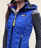 Alexandra Ledermann Sportswear Doudoune sans Manche Tibet (Bleu Roi, XS)