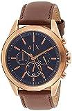 Armani Exchange Reloj Cronógrafo para Hombre de Cuarzo con Correa en Piel AX2626