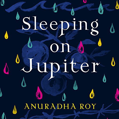 Sleeping on Jupiter audiobook cover art