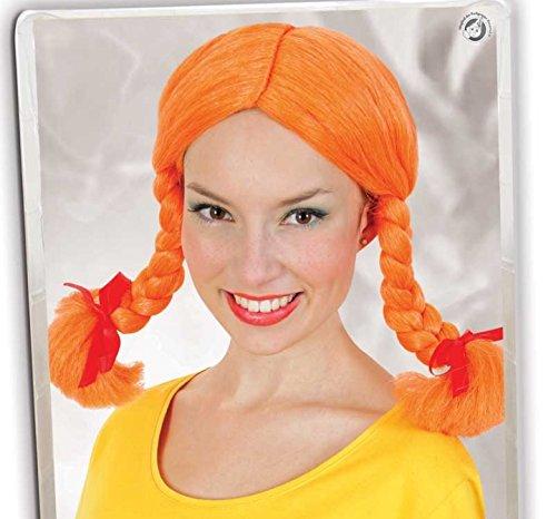 Perücke Göre orange