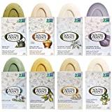 Variety Pack of Natural Bar Soaps by South of France Natural Body Care   Triple-Milled French Soap with Organic Shea Butter + Essential Oils   Vegan, Non-GMO Body Soap   6 oz Bar – 8 Pack   Variety 1