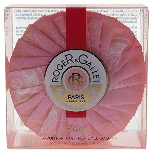 Roger & Gallet Rose Jabón Perfumado en Pastilla 100GRS