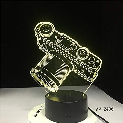 Kamera licht Batterie licht Touch Farbwechsel Tabelle nachtlicht Bett Kopf neuheit dekorative Raumschiff