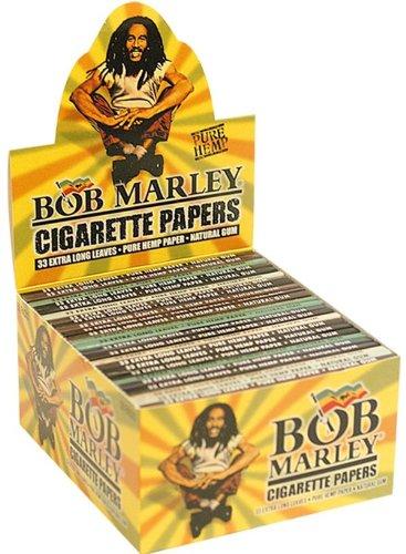 Papel de liar de cáñamo puro Bob Marley –King Size - 10librillos por Trendz
