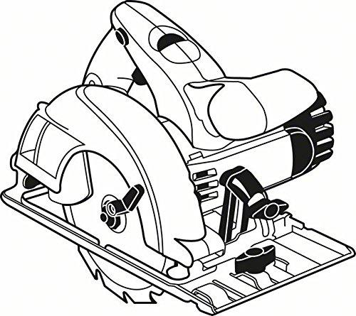 Bosch Zubehör 2608640800 Kreissägeblatt Speedline Wood 190 x 30 x 2,6 mm, 12 - 3