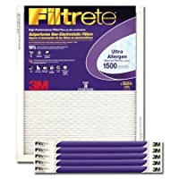 20x24x1 3M Filtrete ウルトラアレルゲンフィルター (1パック)