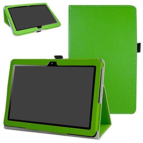 """Mama Mouth MediaPad T3 10 Tablet Custodia, Slim Sottile di Peso Leggero con Supporto in Piedi Caso Case per 10.1"""" Huawei MediaPad T3 Tablet PC,Verde"""