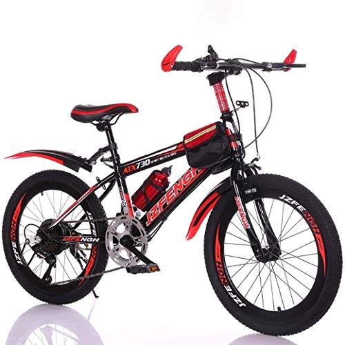 LAMTON Kinderfahrrad 22-Zoll-Variable Speed Mountainbike, bequemer Sattel, rutschfestes Pedal, sicher und einfühlsam Brake, Studenten bewegliches Fahrrad (Farbe : E1, Größe : 22IN)