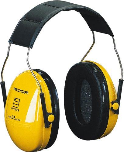 3M PELTOR Kapselgehörschutz Optime I - EN 352-1 - gelb - Größe: universal