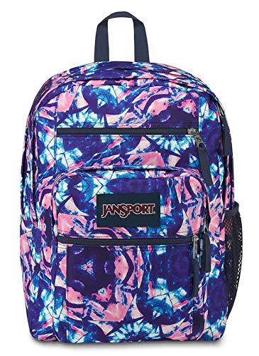 Jansport Big Student Backpack (Shibori Kaleidoscope)