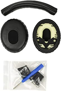 Accessory House Replacement Ear pads and Headband Cushion pad for Bose QuietComfort 3 (QC3) - PACKAGE IS ONLY COMPATIBLE W...