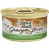 Fancy Feast Gravy Lovers Salmon Feast in Seared Salmon Flavor Gravy Cat Food, 3 oz, 12 Cans