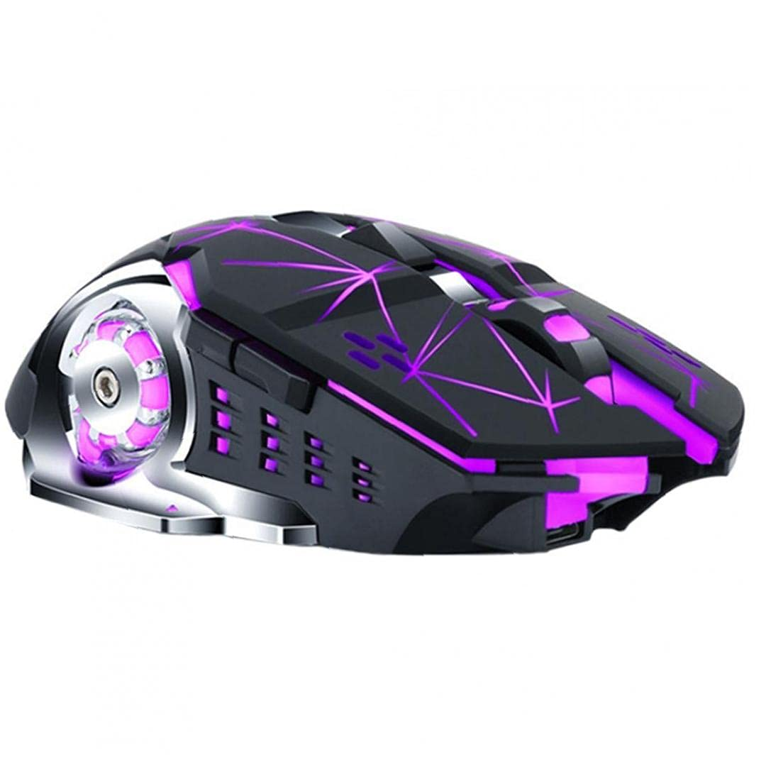 Wireless Gaming Mouse Q13 Rechargeable Max All items free shipping 55% OFF Silent USB Op Backlit LED