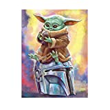 12' X 16' Diamond Painting Kits for Adults Art Star Wars 5d Diamonds DIY by Number Painting Kit for Home Wall Decor (12' X 16')