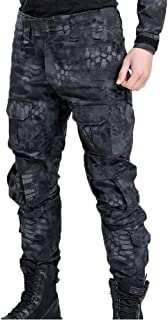 Men's Military Tactical Casual Camouflage Multi-Pocket BDU Cargo Pants Trousers