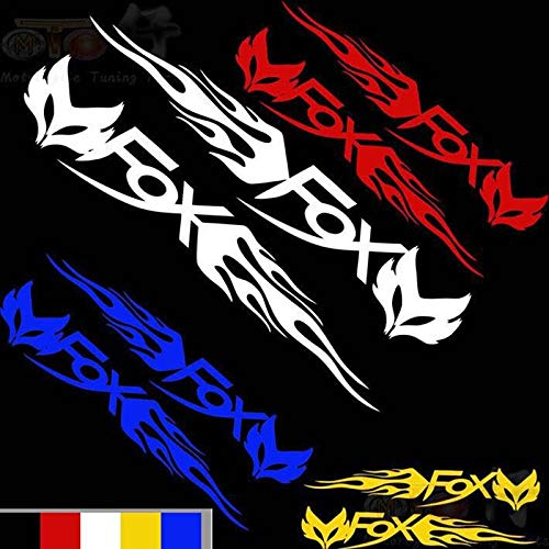 2pcs/set Motorcycle Refit Sticker Scooter Sticker Personality Decorative Reflective Decals for RSZ