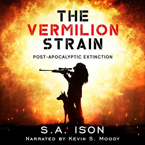 The Vermilion Strain audiobook cover art