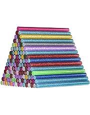 120 stuks Glitter Lijm Sticks, Comius Sharp 15 Gekleurde 7 * 100mm Hot Lijm Stick voor Lijmpistool, Mini Smeltlijm Sticks voor DIY Art Craft Sealing en Home Reparaties