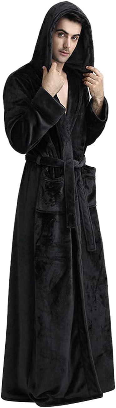 Long Hooded Bathrobe for Women and Men RR1706