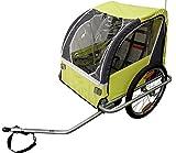Durca 800876 Remorque vélo Mixte Adulte, Vert Pomme